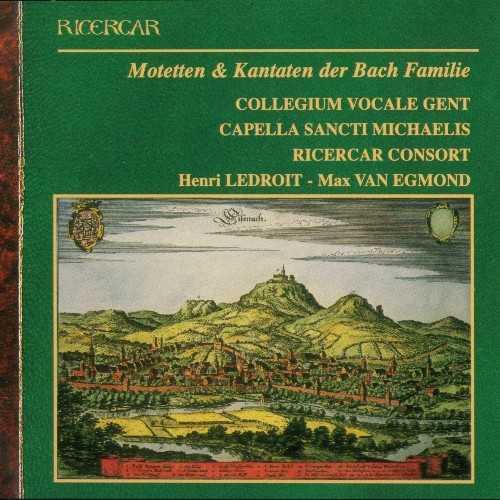 Motetten und Kantaten der Bach Familie (2 CD, FLAC)