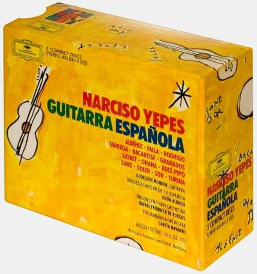 Narciso Yepes - Guitarra Espanola (5 CD box set, APE)