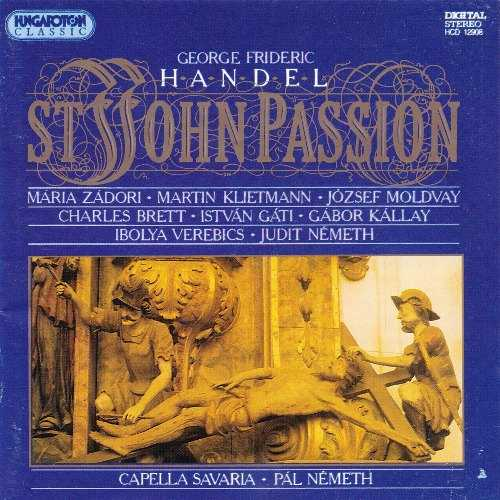 Nemeth: Handel - St. John Passion (APE)