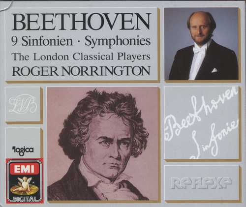 Norrington: Beethoven - 9 Symphonies (6 CD box set, FLAC)