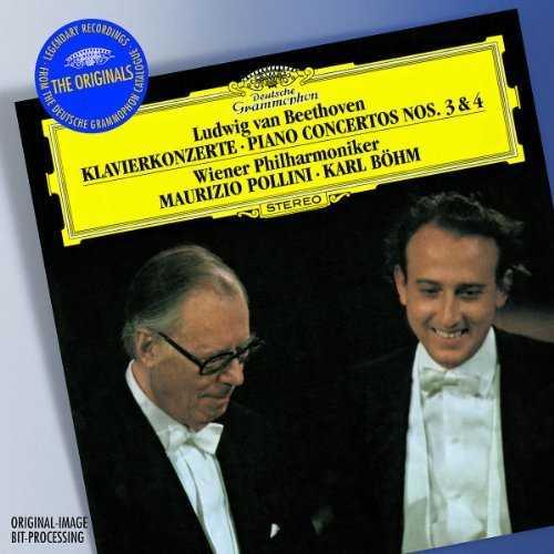Bohm, Pollini: Beethoven - Piano Concertos No.3 & 4 (FLAC)