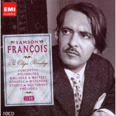 EMI Icon: Samson Francois - The Chopin Recordings (10 CD box set, APE)