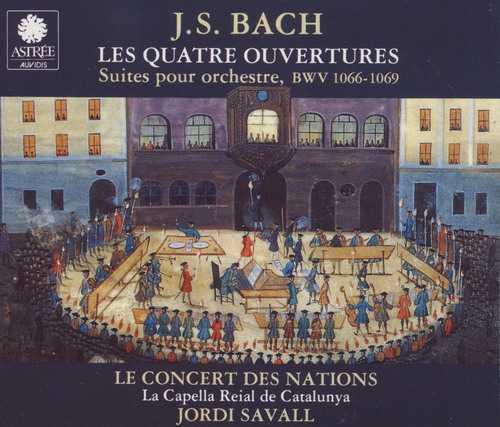 Savall: Bach - Les Quatre Ouvertures (APE)