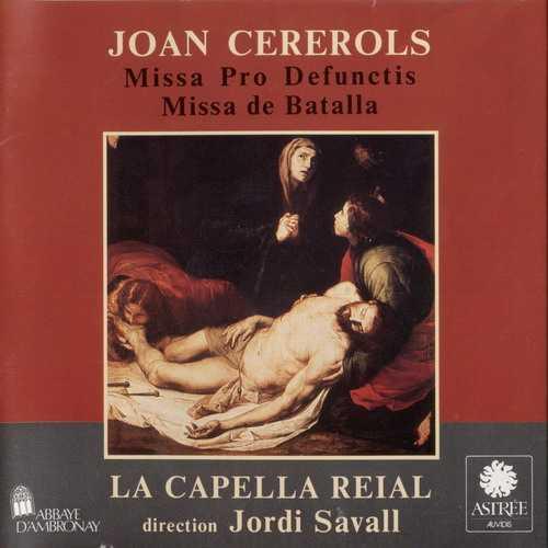 Savall: Cererols - Missa pro Defunctis, Missa de Batalla (APE)