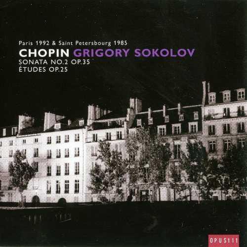 Sokolov: Chopin - Etudes op.25, Sonata no.2 op.35 (FLAC)
