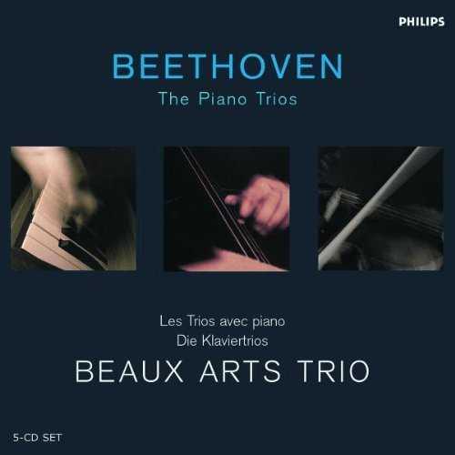 Beaux Arts Trio: Beethoven - The Piano Trios (5 CD box set, FLAC)