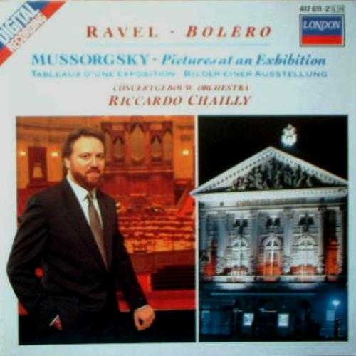 Chailly: Ravel - Bolero, Debussy - Sarabande, Danse, Mussorgsky - Pictures at an Exhibition (APE)