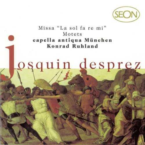 """Ruhland: Desprez - Missa """"La sol fa re mi"""", Motets (FLAC)"""
