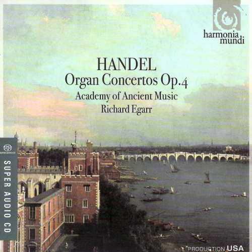Egarr: Handel - Organ Concertos, Op. 4 (88kHz / 24bit, FLAC)