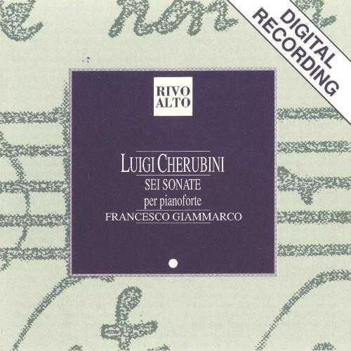 Giammarco: Cherubini - Sei Sonate per pianoforte (FLAC)