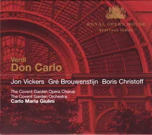 Giulini: Verdi - Don Carlo (3 CD box set, APE)