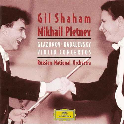 Shaham, Pletnev: Glazunov - Kabalevsky - Violin Concertos (APE)