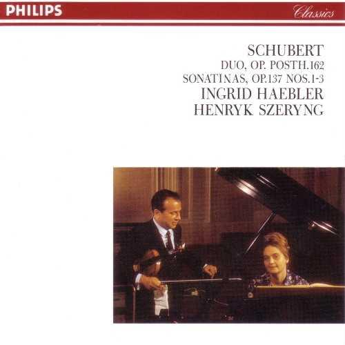 Szeryng, Haebler: Schubert - Duo op.posth 162, Sonatinas op.137 No.1-3 (FLAC)