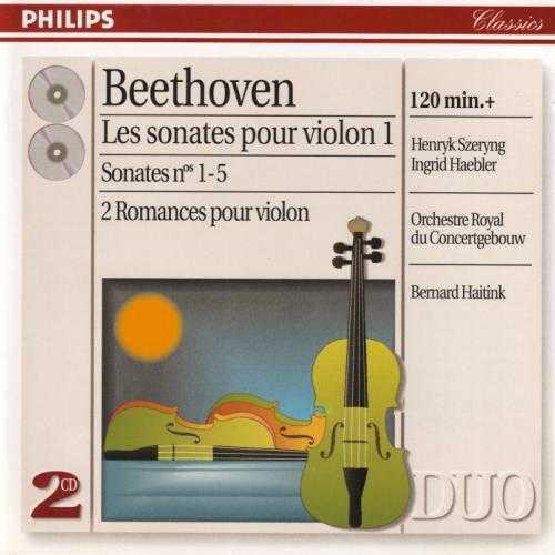 Haitink: Beethoven - Complete Violin Sonatas, Romances vol.1-2 (4 CD, APE)