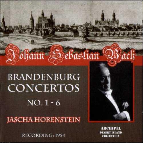 Horenstein: Bach - Brandenburg Concertos no.1-6 (2 CD, FLAC)