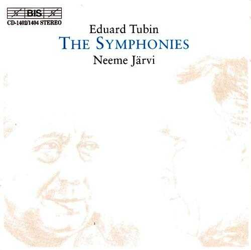 Jarvi: Tubin - The Symphonies (5 CD box set, APE)
