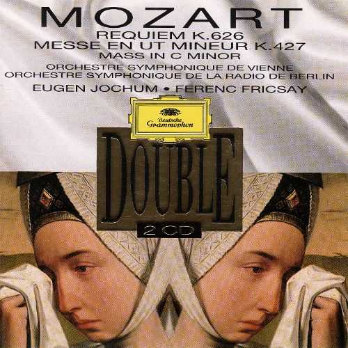 Jochum, Fricsay: Mozart - Requiem K.626, Mass in C minor K.427 (2 CD, FLAC)