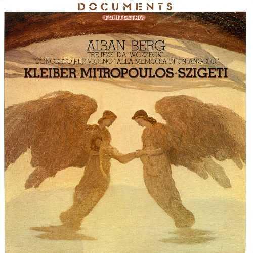 """Alban Berg - Tre pezzi da """"Wozzeck"""", Concerto per violino """"Alla memoria di un angelo"""" (Vinyl, FLAC)"""