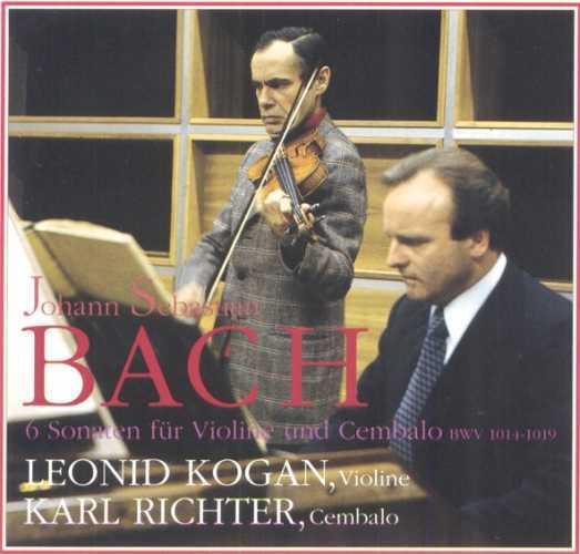 Kogan, Richter: Bach - 6 Sonatas for Violin and Cembalo (2 CD, APE)
