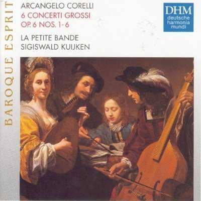 Kuijken: Corelli - 6 Concerti Grossi (FLAC)