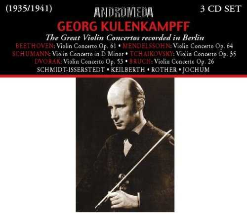 Kulenkampf - The Greatest Violin Concertos Recorded in Berlin (3 CD, APE)