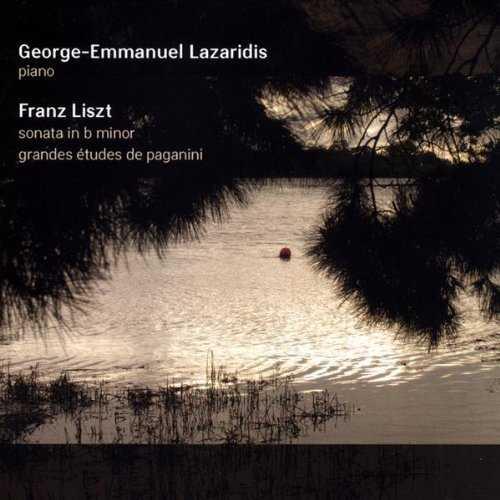 Lazaridis: Liszt - Sonata in B Minor, Grandes Etudes De Paganini (88kHz /24bit, FLAC)