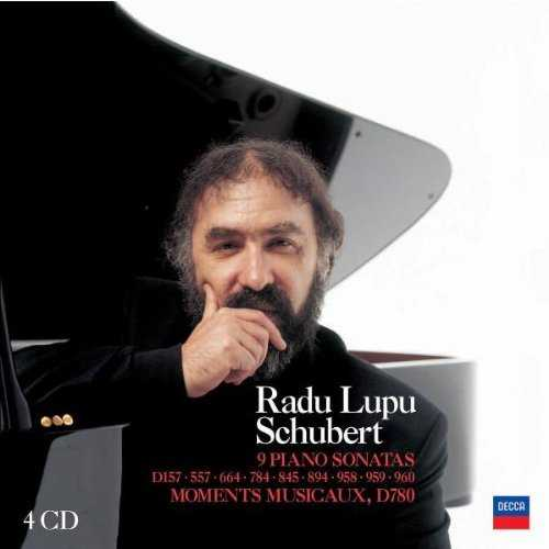 Lupu: Schubert - 9 Piano Sonatas, Moments Musicaux (4 CD box set, FLAC)