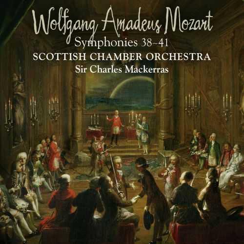 Mackerras: Mozart - Symphonies 38-41 (88kHz / 24bit, FLAC)