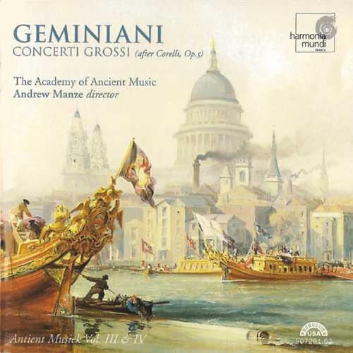 Manze: Geminiani - Concerti Grossi VII-XII, after Corelli op.5 (APE)