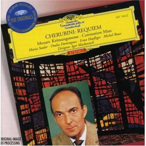 Markevitch: Cherubini - Requiem, Mozart - Coronation Mass (FLAC)