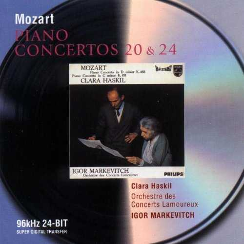 Markevitch, Haskil: Mozart: Piano Conceros no.20 & 24 (FLAC)