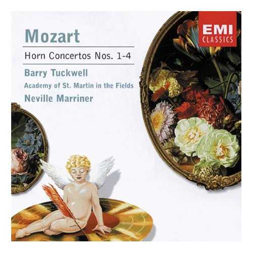 Marriner, Tuckwell: Mozart - Horn Concertos no.1, 4 (FLAC)