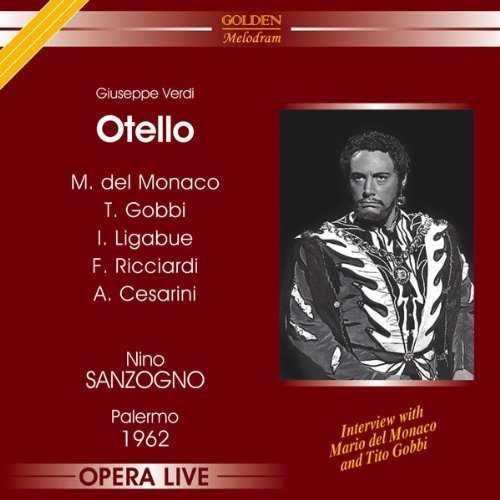 Sanzogno: Verdi - Otello, Palermo 1962 (2 CD, APE)