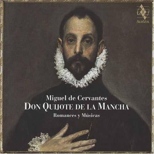 Savall: Don Quijote de la Mancha, Romances y Músicas (2 CD, FLAC)