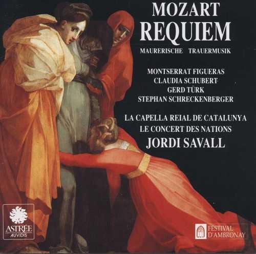 Savall: Mozart - Requiem K626, Maurerische Trauermusik K477 (FLAC)