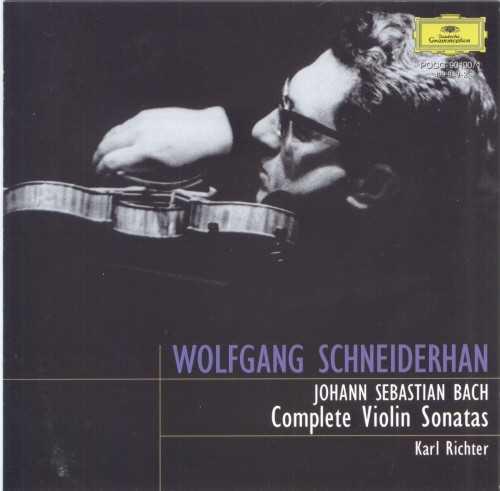 Schneiderhan, Richter: Bach - Complete Violin Sonatas (2 CD, APE)