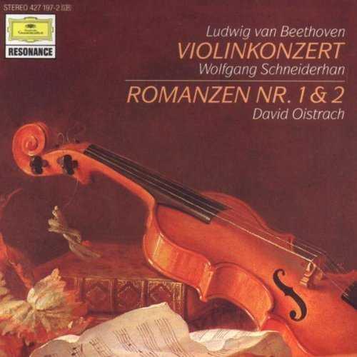 Schneiderhan, Oistrakh: Beethoven - Violin Concerto op.61, Romances 1 & 2 (APE)