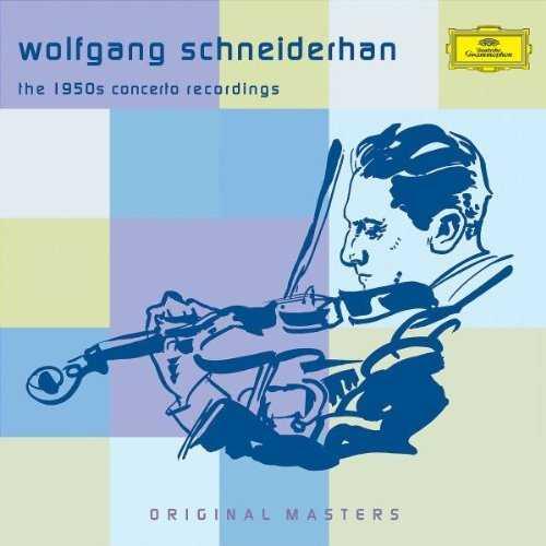 Schneiderhan: The 1950s Concerto Recordings (5 CD box set, FLAC)