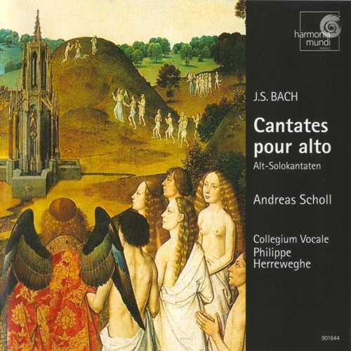 Scholl: Bach - Cantates pour Alto (APE)
