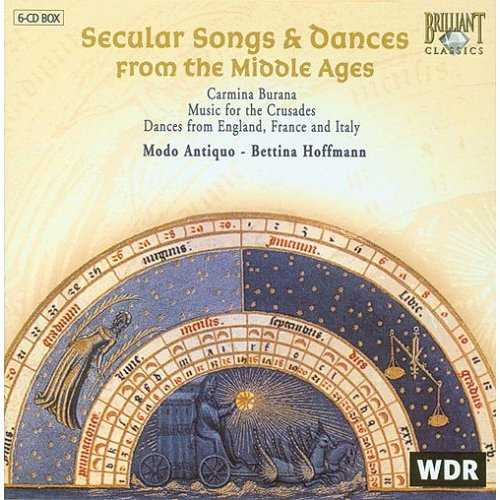 Secular Songs & Dances from the Middle Ages (6 CD box set, FLAC)