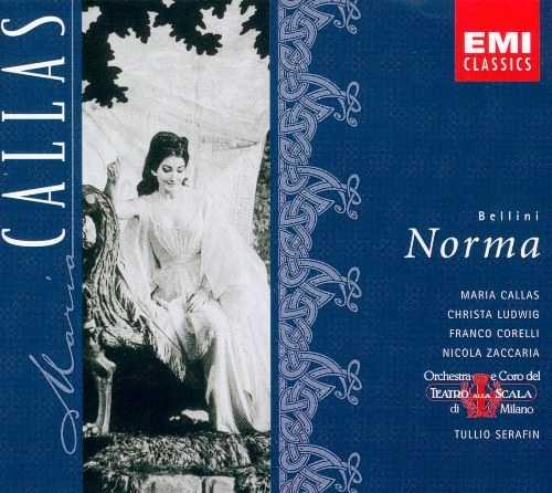 Serafin: Bellini – Norma, 1960 (3 CD, FLAC)
