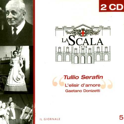 Serafin: Donizetti - L'elisir d'Amore (2 CD, FLAC)