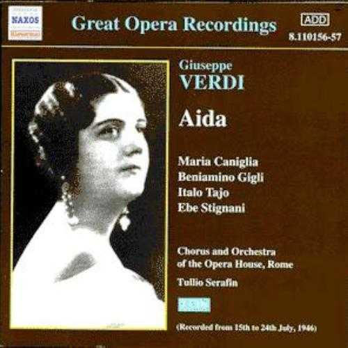 Serafin: Verdi - Aida, Roma 1946 (2 CD, APE)