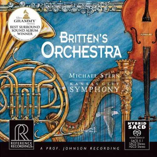 Stern - Britten's Orchestra (88kHz / 24bit, FLAC)