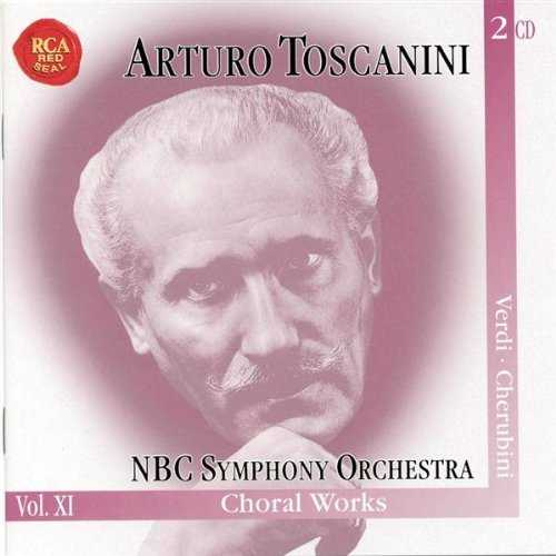 Toscanini: Verdi - Requiem Mass, Te Deum, Cherubini - Requiem in C Minor (2 CD, APE)