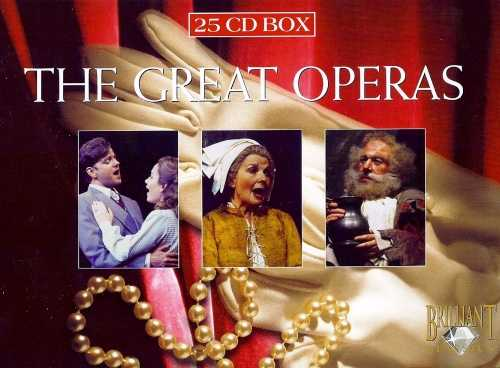 Verdi - The Great Operas (25 CD box set, FLAC)