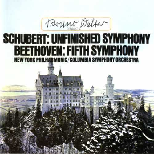 Walter: Schubert - Symphony no.8 (Unfinished), Beethoven - Symphony no.5 (96kHz / 24bit, FLAC)
