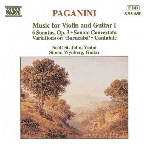 Wynberg: Paganini - Music for Violin and Guitar I (FLAC)