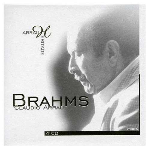 Arrau Heritage: Brahms (4 CD box set, FLAC)