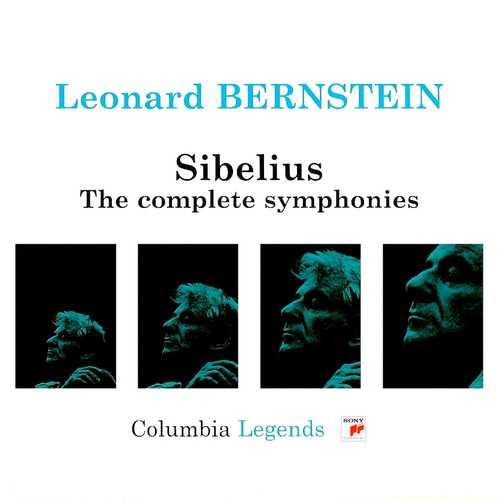 Bernstein: Sibelius - The Complete Symphonies (4 CD, APE)